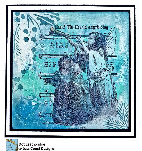 Herald Angels from Lost Coast Designs