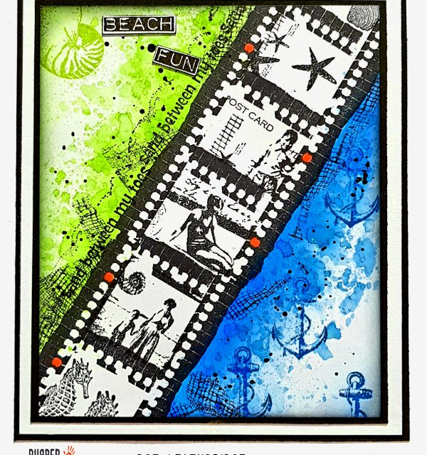 A Filmstrip Card for Rubber Dance