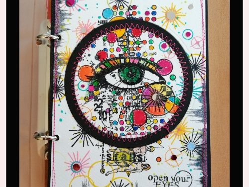 Visible Image Art Journal Page by Sue