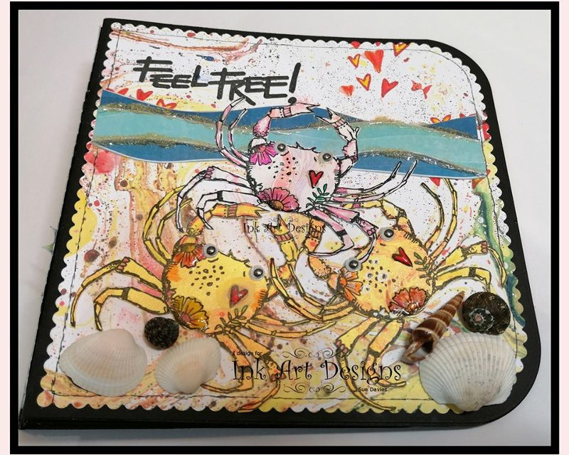 Mini Album with Art By Marlene Stamps by Sue Davies