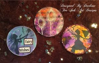 ATCoins Using Lavinia Stamps by Darlene Wright
