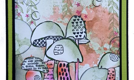 Mushroom Mayhem with Rubber Dance Stamps