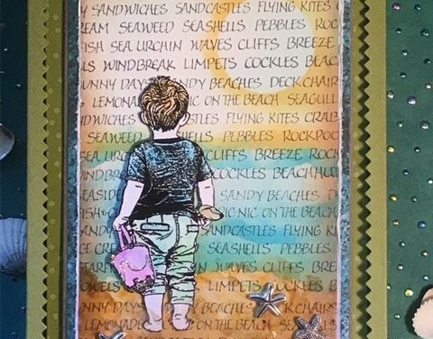 Beach Fun Box Using Crafty Individuals Stamps by Darlene Wright