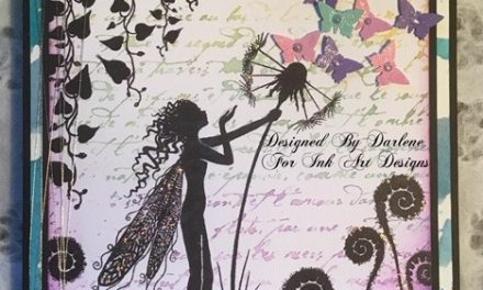A Gorgeous Fairy Card Using Lavinia Stamps by Darlene Wright
