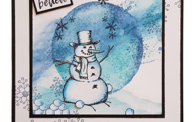 Mr Frosty Comes Out To Play – Card
